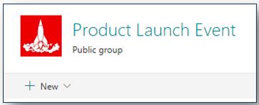 SharePoint site header