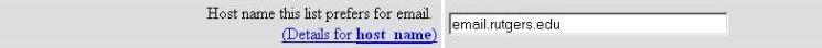 host name screenshot