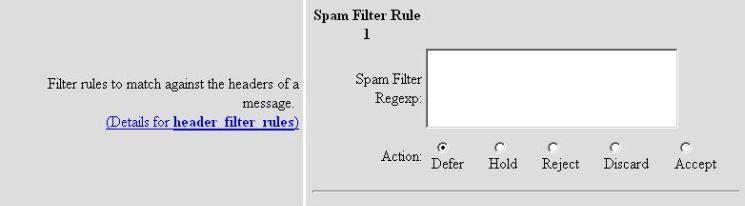 header filter rules screenshot