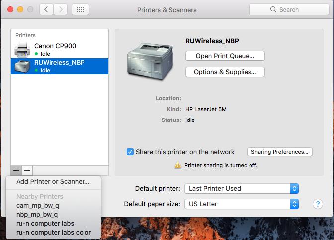 papercut mac install