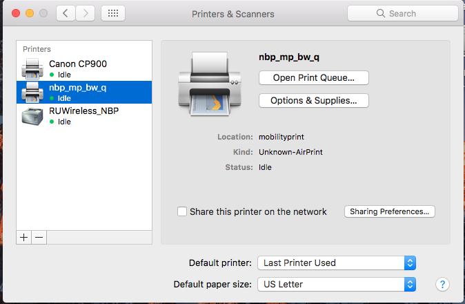 papercut mac install 3