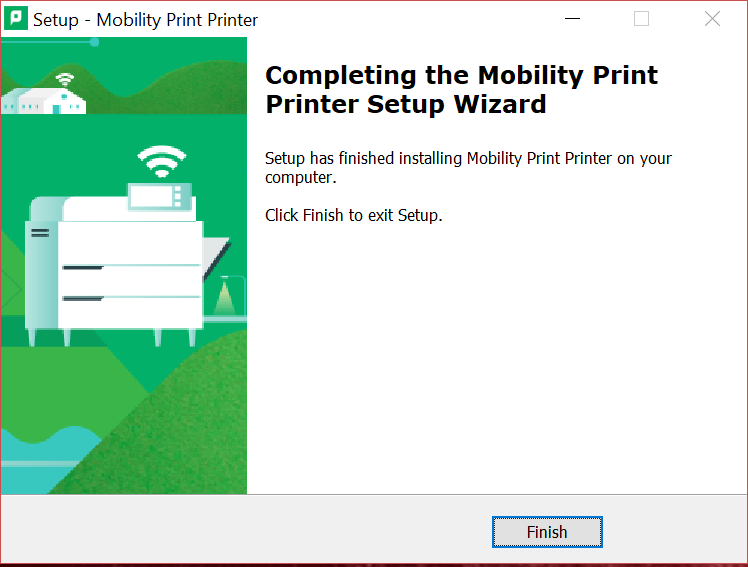 papercut win finish