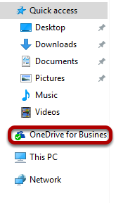 An image of OneDrive sucessfully added to File Explorer.