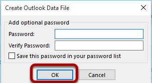 An image showing the file password protection window.