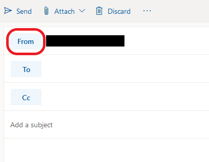 Send from an alternate email address in Outlook - Rutgers Connect