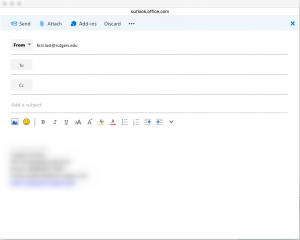 Send from an alternate email address in Outlook Web Access