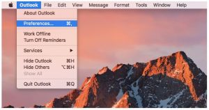Send from an alternate email address in Outlook 2016 for Mac