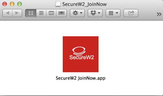 RUWireless Secure Installer in in folder screenshot