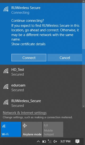 Wifi Center Screenshot