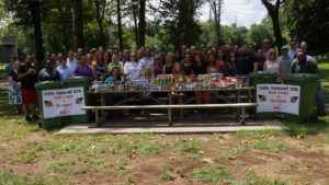 OIT staff photo at Hot Dogs 4 Hunger event in Piscataway 2019