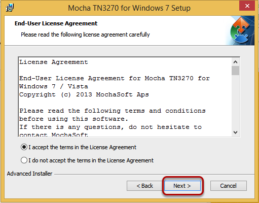 end user agreement